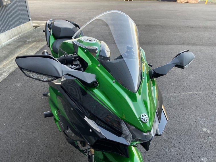 Kawasaki 18-20 H2SX クリアスクリーン