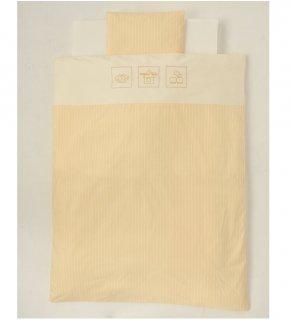 標準サイズ お布団セット ストライプ(8点セット)