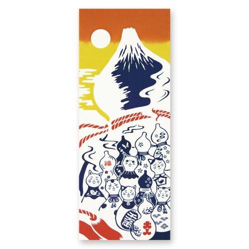 瓢箪猫と富士山