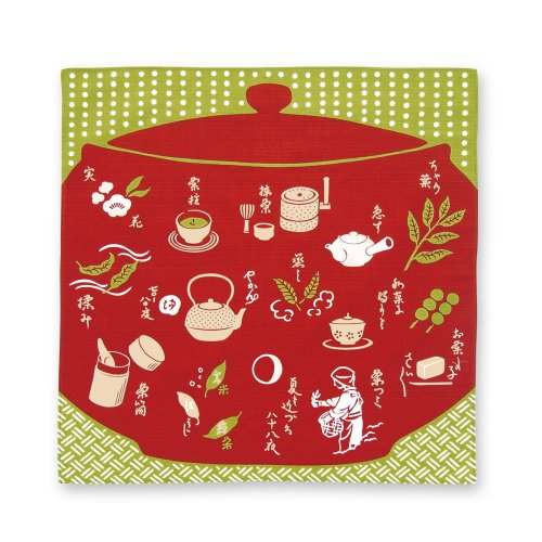 日本茶[風呂敷]