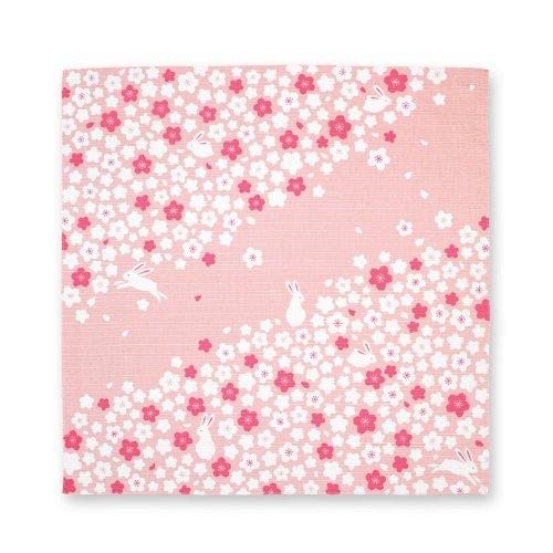 桜うさぎ[風呂敷]