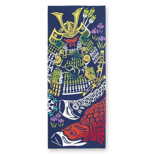 鎧飾りと鯉幟