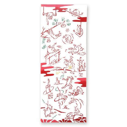 鳥獣戯画-体操