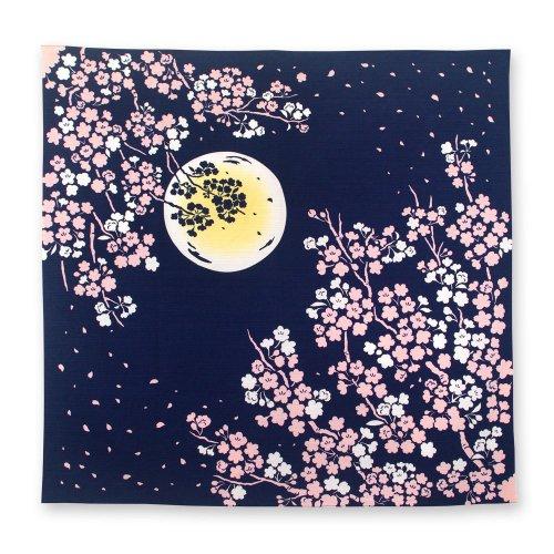 月夜桜[風呂敷]