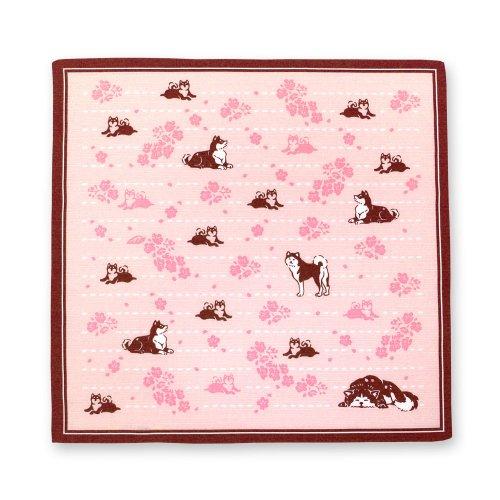 桜の丘でひと休み[風呂敷]