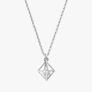 K18WG/0.5ctダイヤモンド原石/ネックレス/RAW DIAMOND