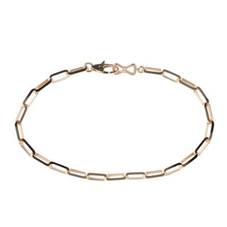 【LEON掲載】K18PG/ダイヤモンド/ブレスレット /BOW TIE/bracelet
