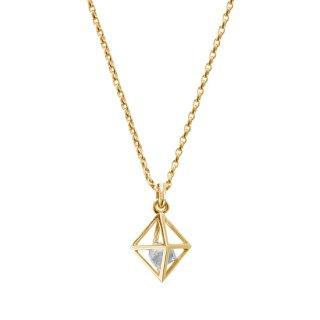 【LEON掲載】 K18YG/0.5ctダイヤモンド原石/ペンダントトップ/RAW DIAMOND