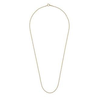 K18YG/ネックレスボールチェーン NECKLACE chain 50cm