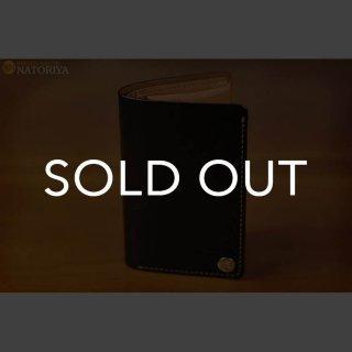 MOTO W2D 二つ折り縦挿ウォレット 手染めカーフ (▲受注生産)