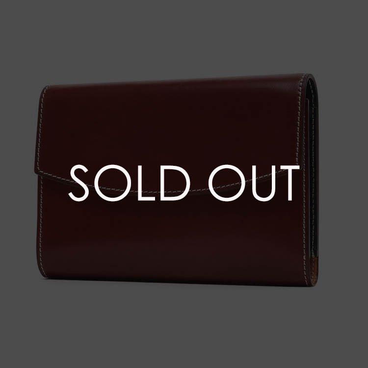 K.T.ルイストン KTW187R ラフコードバン 三つ折財布 【U.RED】
