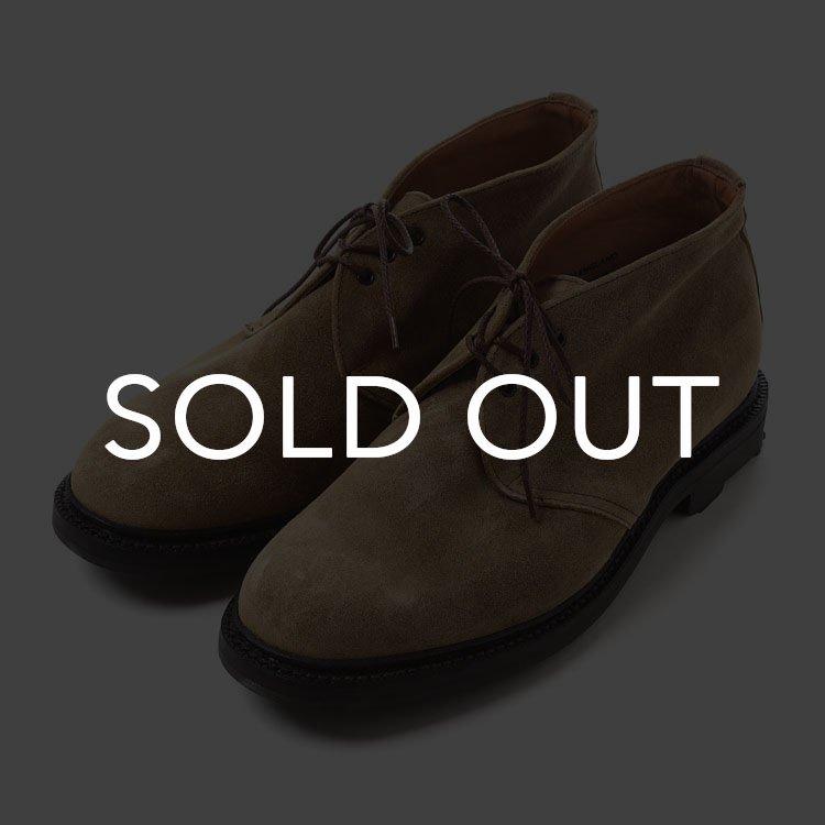 SANDERS (サンダース) 1934TWS 3Tie Chukka Boot Maracca Waxy Suede