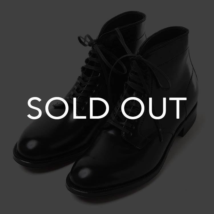 オールデン 4562H  P-TOE ブーツ コードバン 【ブラック】