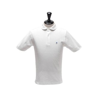 Glacon (グラソン)  Round Collar Polo/メンズ/ホワイト