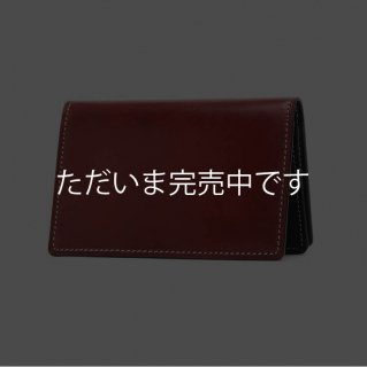 K.T.ルイストン KTW034R カードケース 【ラフコードバン/U.RED】