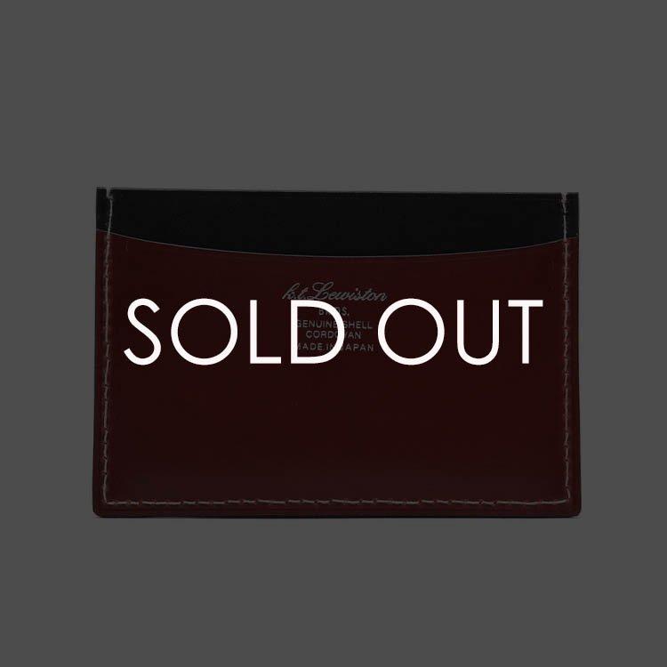K.T.ルイストン KTW177R コードバン単パスケース  【U.RED】