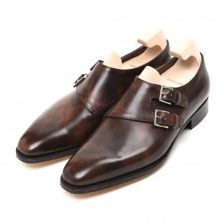 JOHN LOBB ジョンロブ CHAPEL 8000 MUSEUM CALF (DARK BROWN) Eウィズ
