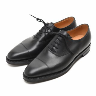 JOHN LOBB ジョンロブ CITY-II Classic rubber Sole AQUA CALF BLACK Eウィズ