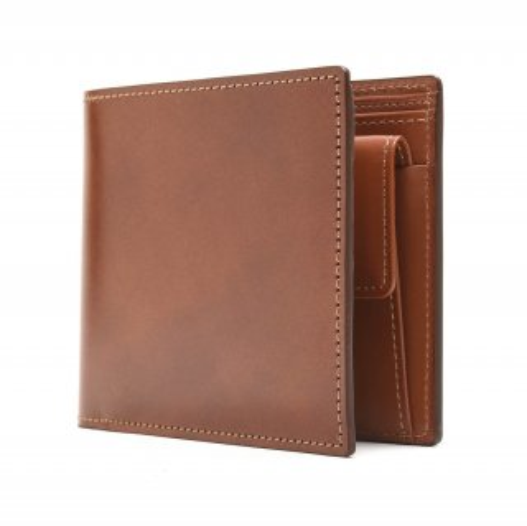K.t.Lewiston KTW023 コードバン二つ折り財布 | WHKY (ウイスキー)