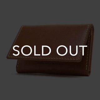 MOTO (モト) CA4 カードケース BROWN (▲受注生産)