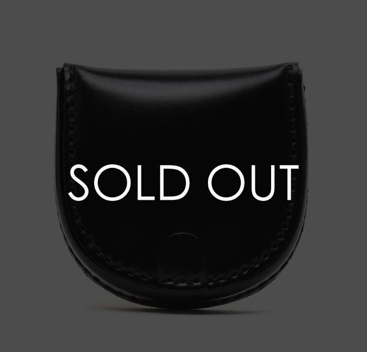 K.t.ルイストン KTW008 馬蹄コインケース コードバン 【BLACK】