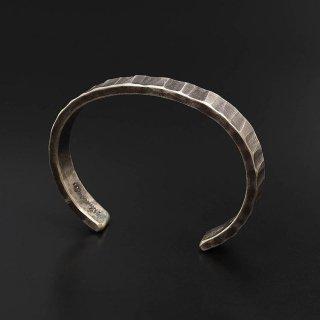 STUDEBAKER METALS Bessemer Cuff 925 Silver-Patina (メンズ)