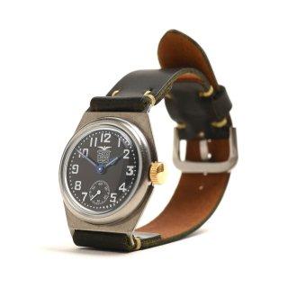 MOTO WT1V 腕時計 黒盤×手染めコードバンブラック (メンズ)