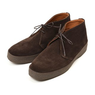 SANDERS サンダース  9877TDSP Brit Chukka Pinner Brown Suede メンズ