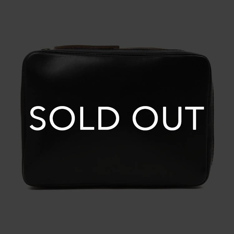 Fernand Leather フェルナンド Small Zip Pouch クロムエクセル BLACK