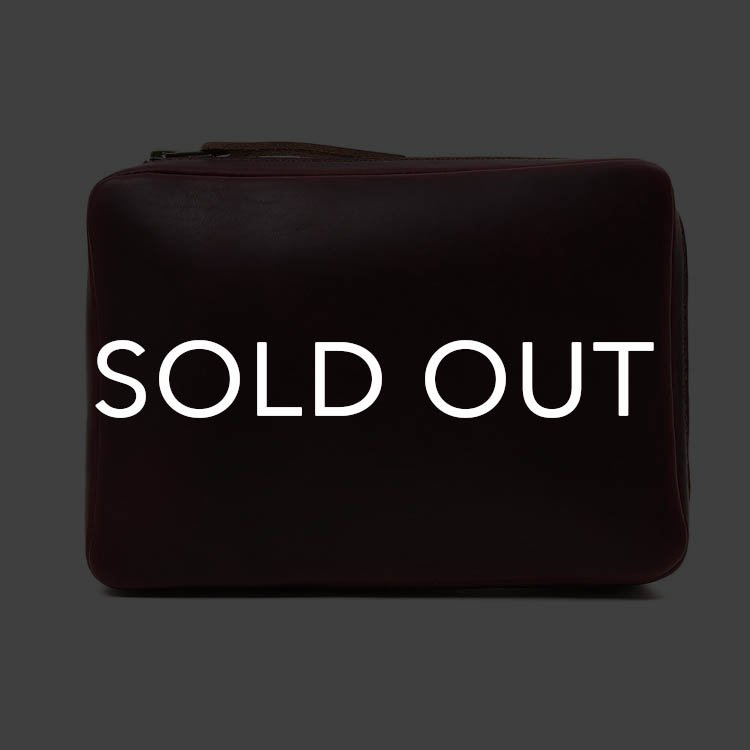 Fernand Leather フェルナンド Small Zip Pouch クロムエクセル WINE<img class='new_mark_img2' src='https://img.shop-pro.jp/img/new/icons14.gif' style='border:none;display:inline;margin:0px;padding:0px;width:auto;' />