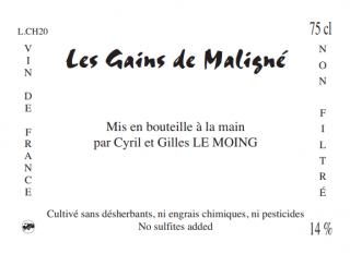 Les Gains de Maligné レ・ゲン・ド・マリーニュ 2020 ¥5,155(税込)