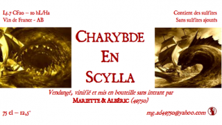 <img class='new_mark_img1' src='https://img.shop-pro.jp/img/new/icons14.gif' style='border:none;display:inline;margin:0px;padding:0px;width:auto;' />Charybde en Scylla カリブ・オン・シラ 2020 ¥4,004(税込)