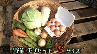 [送料込み]野菜・玉子セット Sサイズ