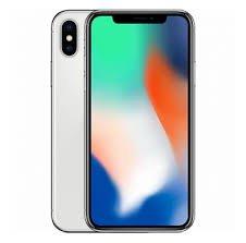 【中古Bランク】SIMロック解除済 ドコモ iPhoneX 64GB シルバー