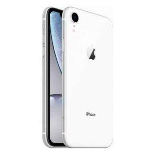 【中古Bランク】SIMフリー iPhoneXR 64GB ホワイト ネットワーク利用制限○