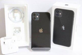 【Sランク 新品同様】SIMフリー iPhone11 64GB ブラック 送料無料