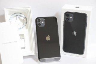 【SSランク:未使用品】SIMフリー iPhone11 64GB ブラック 送料無料