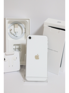 【中古美品Aランク】SIMフリー iPhoneSE (第2世代) 64GB ホワイト