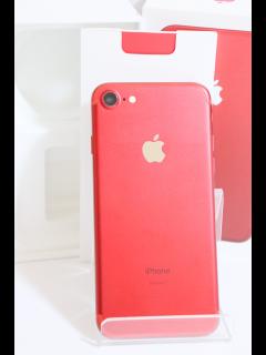iPhone7 128GB レッド SIMフリー 中古美品Aランク
