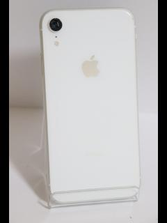 iPhoneXR 128GB ホワイト SIMフリー バッテリー90% 中古Cランク