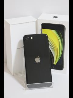 iPhoneSE (第2世代) 64GB ブラック SIMフリー バッテリー98% 中古Bランク
