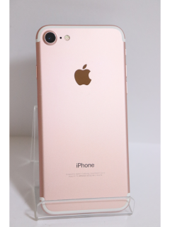 iPhone7 128GB ローズゴールド SIMフリー バッテリー87% 中古Bランク