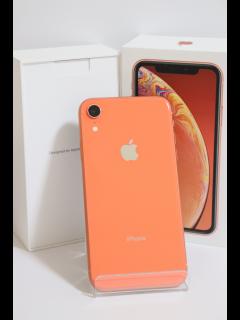 iPhoneXR 128GB コーラル SIMフリー バッテリー88% Sランク 新品同様