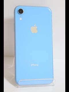 iPhoneXR 64GB ブルー SIMフリー バッテリー89% 中古美品Aランク
