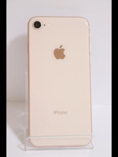 iPhone8 64GB ゴールド SIMフリー バッテリー83% 中古Bランク
