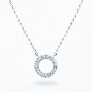 H004 ラボグロウンダイヤモンド<br>ネックレス / プラチナ / total0.18カラット