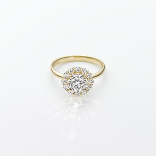 L002 ラボグロウンダイヤモンド<br>リング / ゴールド / 1.00カラット