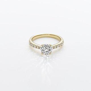 L004 ラボグロウンダイヤモンド<br>リング / ゴールド / 1.00カラット