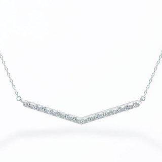 H002 ラボグロウンダイヤモンド<br>ネックレス / プラチナ / total0.20カラット
