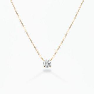【受注商品】S001 ラボグロウンダイヤモンド<br>ネックレス / ゴールド / 0.70カラット